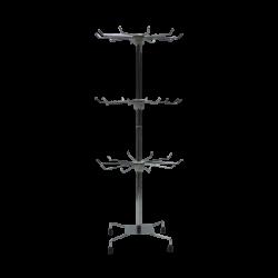 Yonhoo - Equipamiento Comercial | Reja Metálica Cromada 150 x 60 cm | Ref. 311506