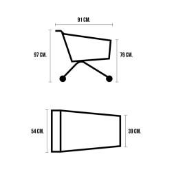 Yonhoo - Equipamiento Comercial | Soporte Balón para Reja | Ref. 230426